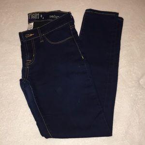 Refuge skin tight leggings size 6 dark jeans
